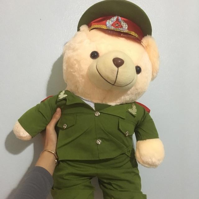 Gấu bông công an cảnh sát 70cm - 10074778 , 873850883 , 322_873850883 , 250000 , Gau-bong-cong-an-canh-sat-70cm-322_873850883 , shopee.vn , Gấu bông công an cảnh sát 70cm
