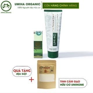 Tẩy triệt lông Nách vĩnh viễn UMIHA – Combo Mỡ trăn triệt lông U Minh Hạ (10ml) và Kem tẩy lông Umi 4C (100ml)