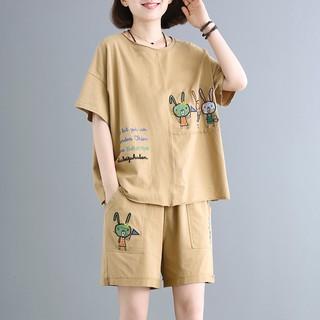 Quần Áo Ngủ Tiểu Thư ⚡𝐅𝐫𝐞𝐞𝐒𝐡𝐢𝐩⚡ Đồ Bộ Thun Nữ Mặc Nhà Mùa Hè ⚡ Chất Cotton Mát Lạnh Siêu Cute⚡ Set Bộ Pijama Đẹp
