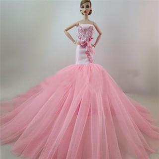 SIY❤ Handmade Elegant Doll Dress for Barbie FR Kurhn Doll Party Dress Clo