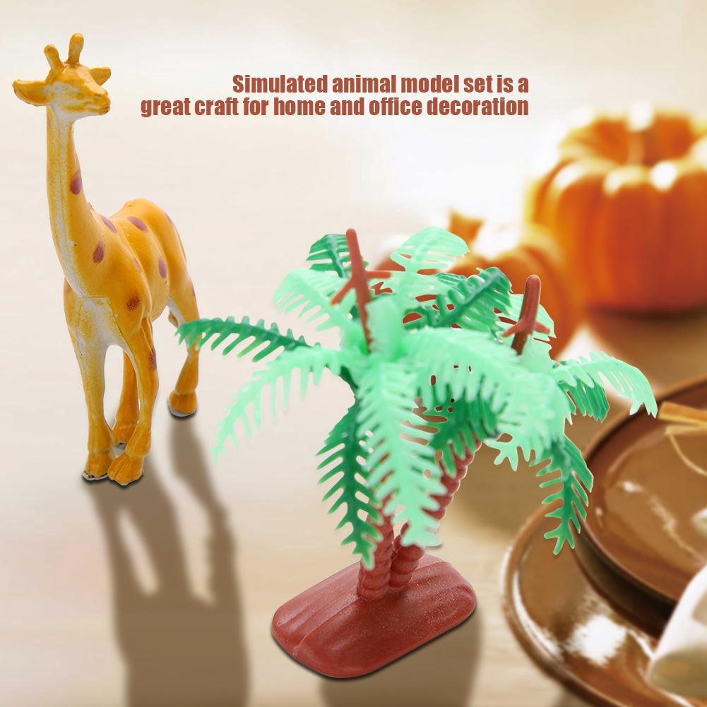 Forest Animal models Plastic Animal Model Toy for Children