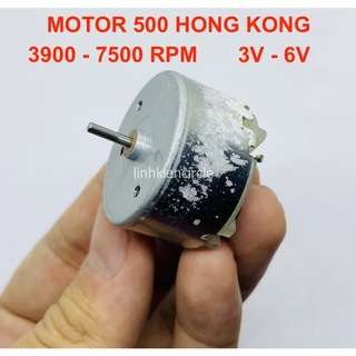 HÀNG TỒN KHO CHƯA QUA SỬ DỤNG – Motor 500 3V – 6V tốc độ 3900 – 7500 RPM hàng Hong Kong chất lượng tốt – LK0102