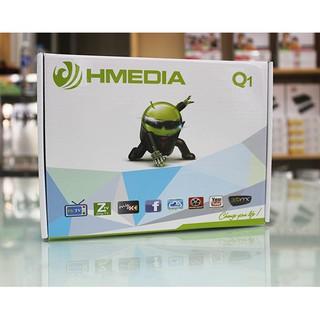 Tivi box Hmedia Q1/ Androi TV Ram 1gb Rom 8Gb tặng chuột không dây mới 99%