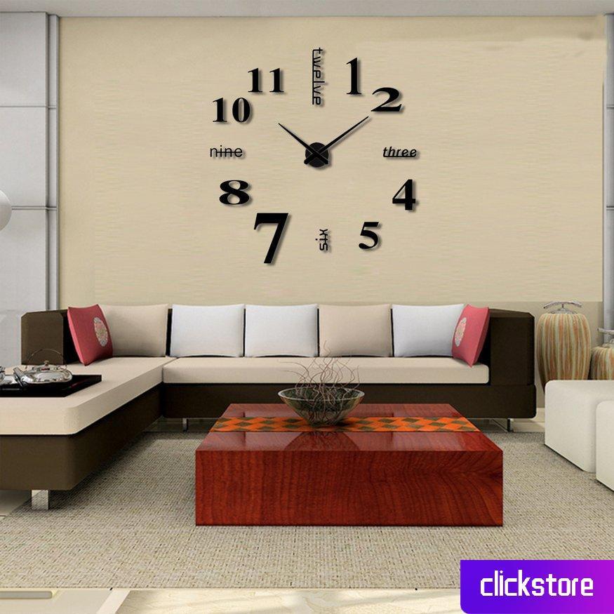 Đồng hồ 3d bằng eva treo trang trí tường nghệ thuật tiện lợi chất lượng