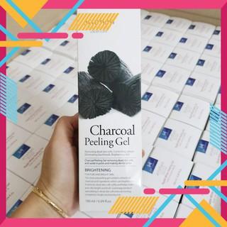 [MÃ GIẢM GIÁ 10% CHO ĐƠN TỐI THIỂU 199K] Gel tẩy da chết Arrahan Charcoal Peeling Gel 180ml Hàn QuốcFREEthan hoạt tính