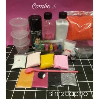 Combo nguyên liệu làm slime 5
