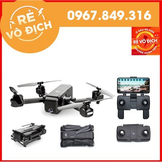 [GIÁ HỦY DIỆT] Máy bay Flycam SJRC Z5 Camera xoay 90 độ, FHD 1080p cánh gập nhỏ gọn,tự giữ vị trí, chụp hình bằng cử chỉ