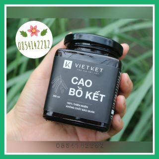 Cao bồ kết Vietket – Sản phẩm Organic nguyên chất 100% không hóa chất
