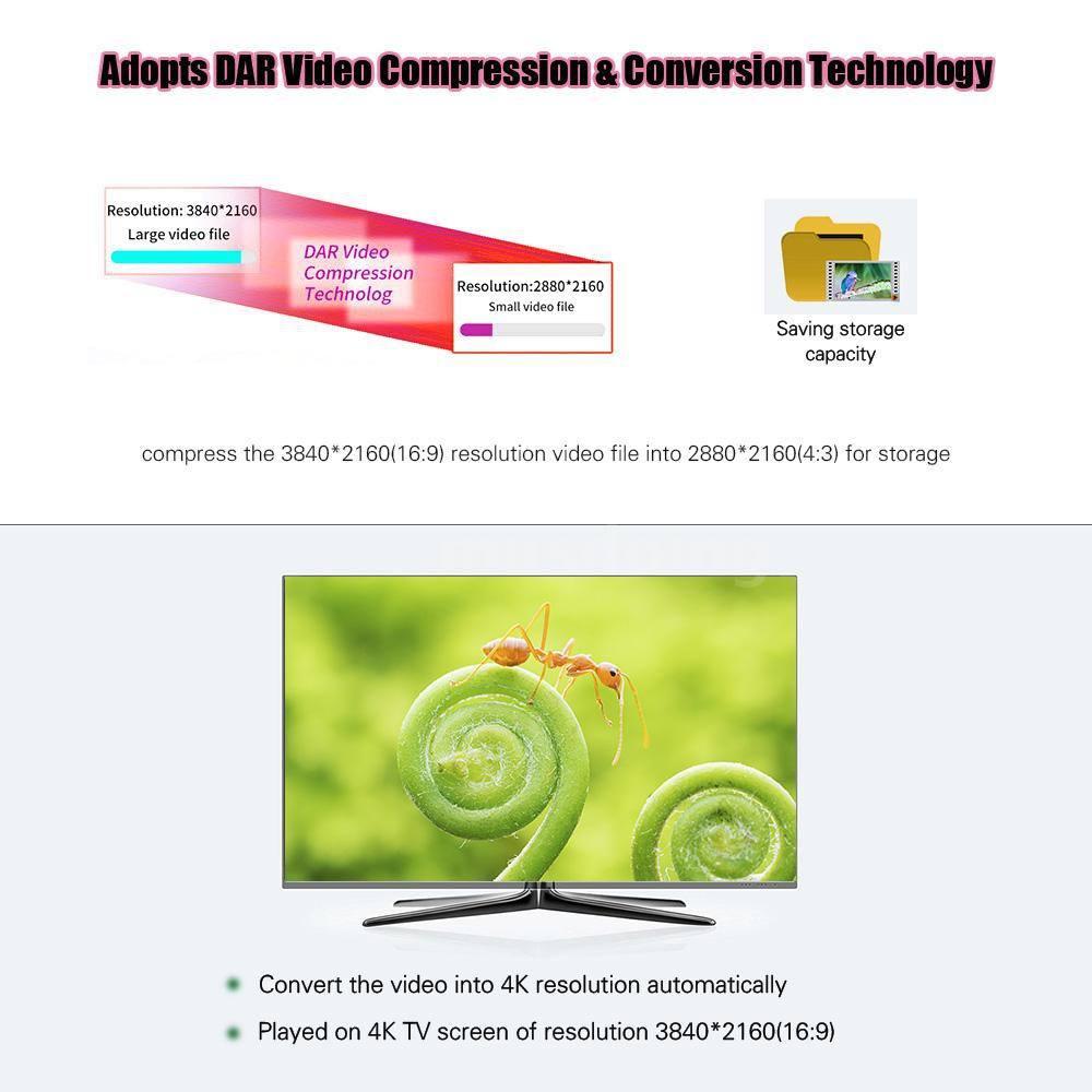 ORDRO AC3 4K WiFi Digital Video Camera Camcorder DV Recorder