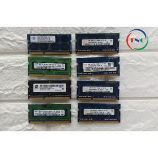 RAM Laptop 2G DDR3 cũ tháo máy Bus 1333 / Bus 1600 / Bus 1066 MHz (Ram Laptop PC3-2G cũ)