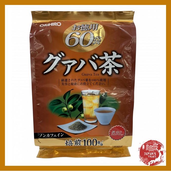 [Orihio] Trà ổi hỗ trợ giảm cân Orihiro 60 gói - Giảm cân an toàn - Giá tốt - Hàng chính hãng giá rẻ