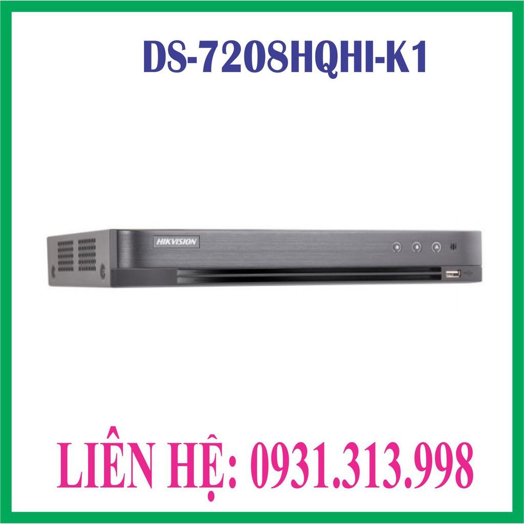 Đầu ghi hình HD-TVI 8 kênh 4.0mp  HIKVISION DS-7208HQHI-K1 (S)