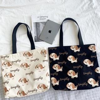 Túi tote đẹp, túi vải canvas đeo chéo có khóa họa tiết độc đáo đẹp giá rẻ TUCANVAS TCV34 thumbnail