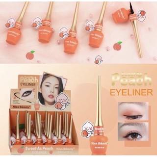 Bút Kẻ Mắt Trái Đào Sweet As Peach Eyeliner Của Kiss Beauty
