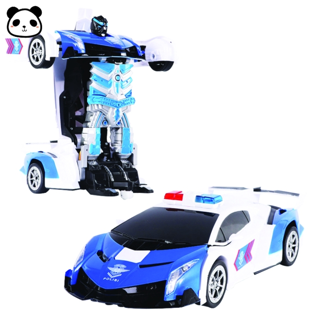Robot xe ô tô điều khiển từ xa 2.4G độc đáo cho trẻ em