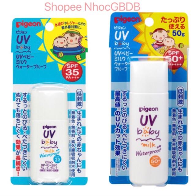 Kem chống nắng Pigeon cho trẻ em 30g/ 50gr nội địa Nhật - 2766014 , 660455976 , 322_660455976 , 200000 , Kem-chong-nang-Pigeon-cho-tre-em-30g-50gr-noi-dia-Nhat-322_660455976 , shopee.vn , Kem chống nắng Pigeon cho trẻ em 30g/ 50gr nội địa Nhật