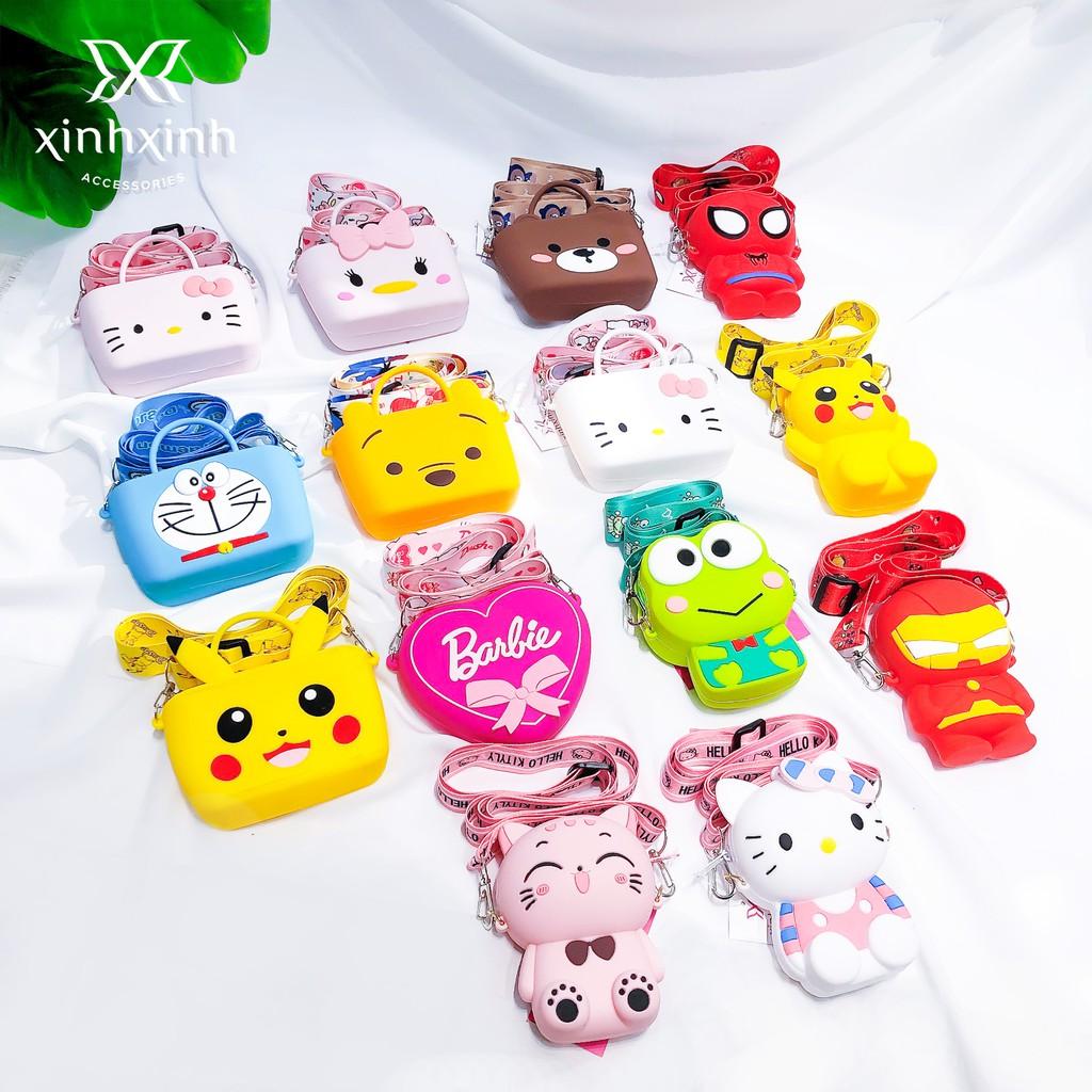 Túi xách trẻ em , túi thời trang silicone hoạt hình ngộ nghĩnh cho bé - Xinh Xinh Accessories