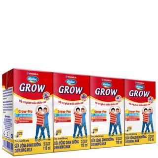 SỮA BỘT PHA SẴN DIELAC GROW 110ML - LỐC 4 HỘP X 110ML thumbnail