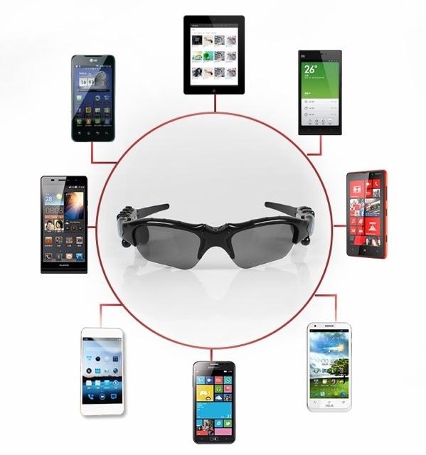 Kính thông minh Bluetooth nghẹ nhạc gọi điện thoại