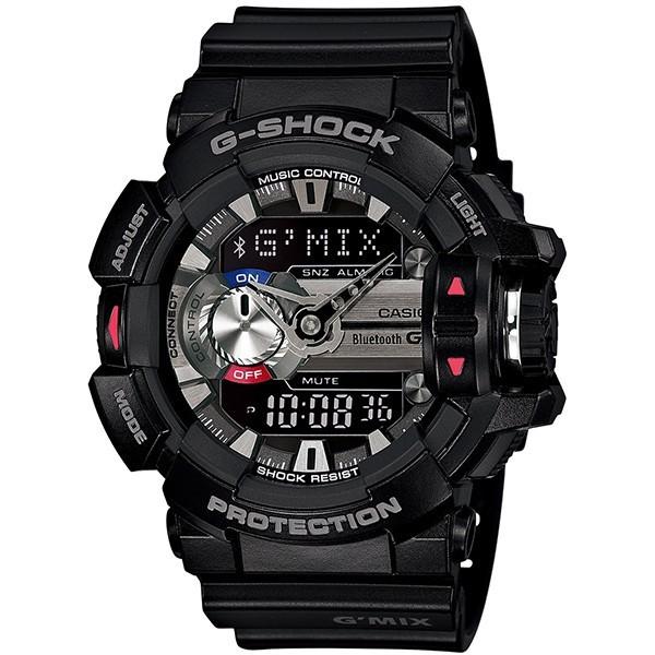[นาฬิกา Hongkun] CASIO Casio G-Shock ชุดกันน้ำทน 200 เมตรกีฬานาฬิกา GBA-400-1A รับประกันคาสิโอไต้หวันหนึ่งปี