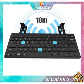 Bàn phím máy tính cho điện thoại, Bàn phím bluetooth BOW HB191A, hỗ trợ kết nối 2 thiết bị trong 1 - BẢO HÀNH UY TÍN thumbnail
