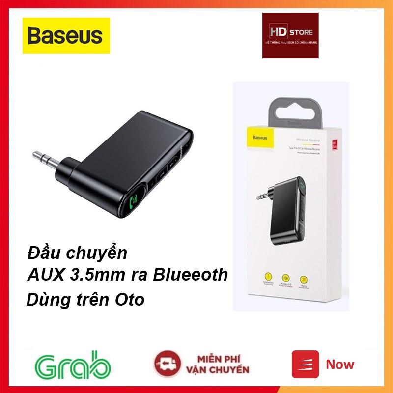 Đầu chuyển đổi Baseus Audio AUX 3.5mm ra Bluetooth ( Car AUX 3.5mm Bluetooth Receiver/ Adapter)