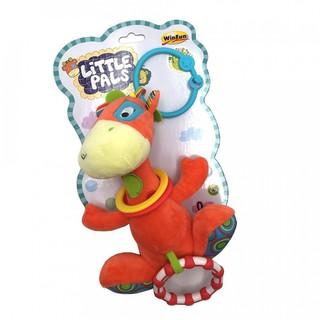 Đồ chơi thú bông xúc xắc hình hươu treo xe đẩy cho bé 0117 - kích thích thị giác, tư duy màu sắc cho trẻ sơ sinh thumbnail