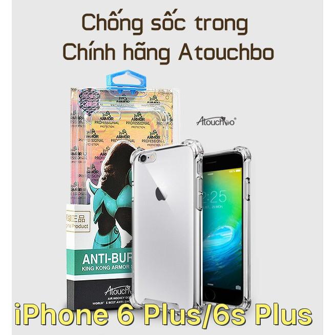 Ốp lưng chống sốc chính hãng Atouchbo cho iPhone 6 Plus / iPhone 6s Plus - 2833333 , 834528742 , 322_834528742 , 161000 , Op-lung-chong-soc-chinh-hang-Atouchbo-cho-iPhone-6-Plus--iPhone-6s-Plus-322_834528742 , shopee.vn , Ốp lưng chống sốc chính hãng Atouchbo cho iPhone 6 Plus / iPhone 6s Plus