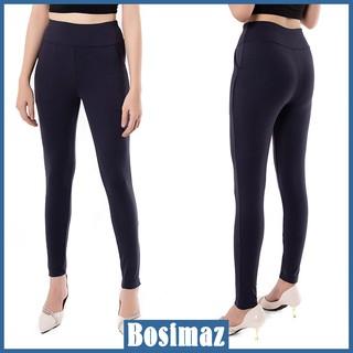 Quần Legging Nữ Bosimaz MS113 dài túi trước màu xanh navy cao cấp, thun co giãn 4 chiều, vải đẹp dày, thoáng mát. thumbnail