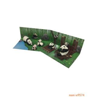 đồ chơi giáo dục hình gấu trúc