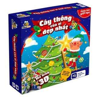 Đồ chơi trí tuệ Manabee - Cây thông của ai đẹp nhất - Giúp bé nhận biết màu sắc, hình khối - Lứa tuổi 1- 10. thumbnail