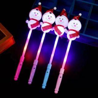 NHẬP FSS12DEC hoàn 20% xuCây đèn chớp tắt hình người tuyết, quà tặng mùa giáng Sinh, lễ, Tết cho thiếu nhi