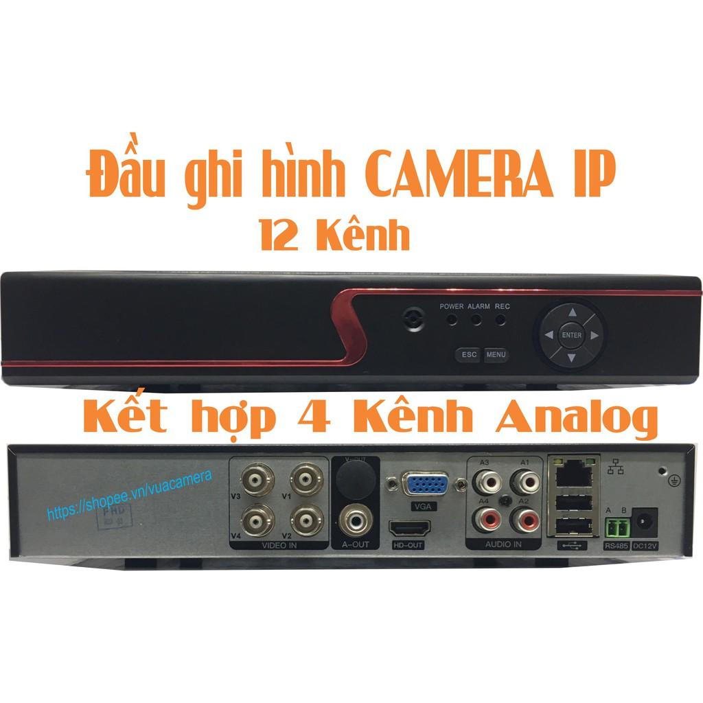 Đầu ghi hình cho camera IP Yoosee 12 kênh