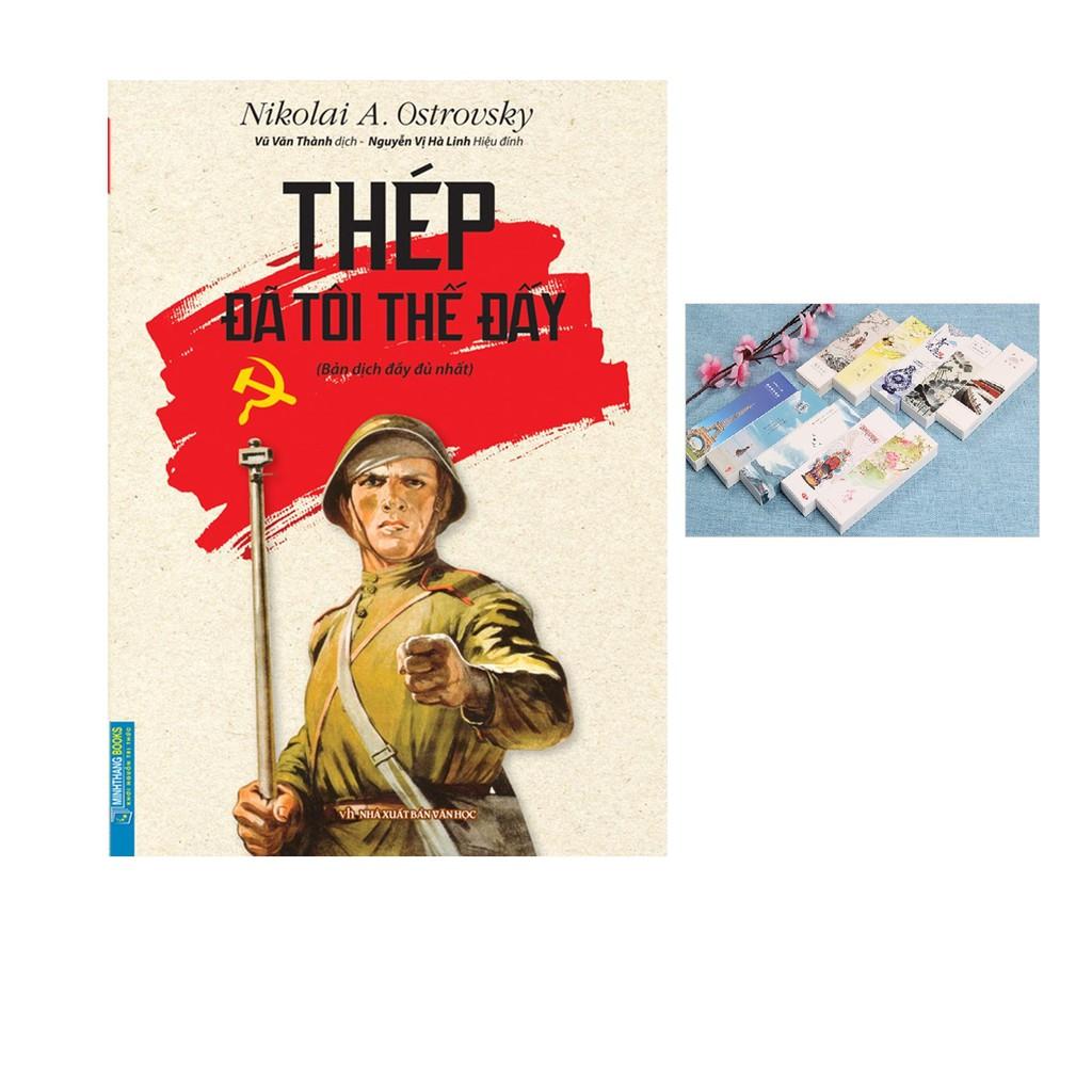 Sách Thép Đã Tôi Thế Đấy (Bìa mềm 2020) Tặng bookmark