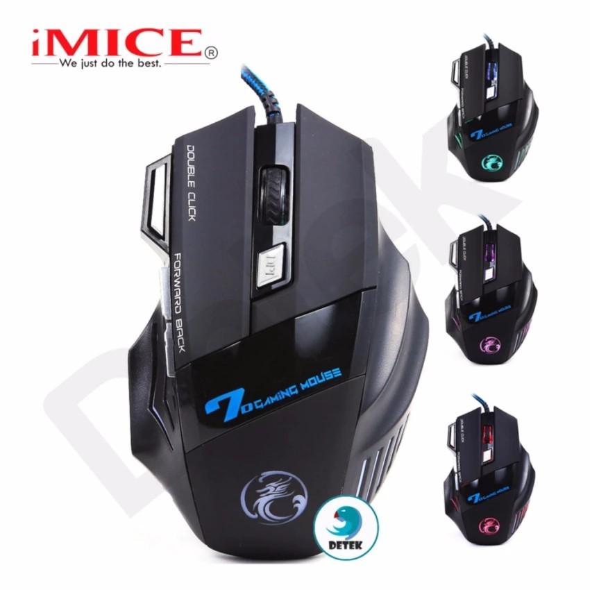 Chuột có dây game thủ iMice X7 (Có 1 màu Đen) - 3087464 , 631581413 , 322_631581413 , 159000 , Chuot-co-day-game-thu-iMice-X7-Co-1-mau-Den-322_631581413 , shopee.vn , Chuột có dây game thủ iMice X7 (Có 1 màu Đen)