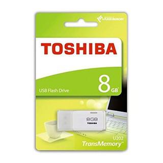 USB 8GB 16GB 32GB  TOSHIBA 2.0 - TEM FPT. MÀU NGẪU NHIÊN. VI TÍNH QUỐC DUY