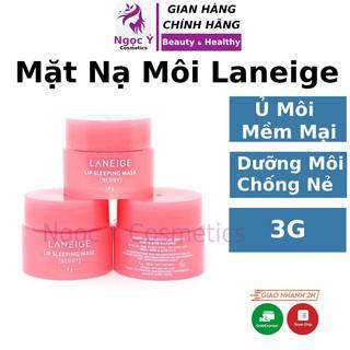 Mặt nạ dưỡng môi Laneige Lip Sleeping Mask 3g mặt nạ ngủ môi ủ môi mini Laneige Ngọc Ý Cosmetics - MNM Laneige thumbnail
