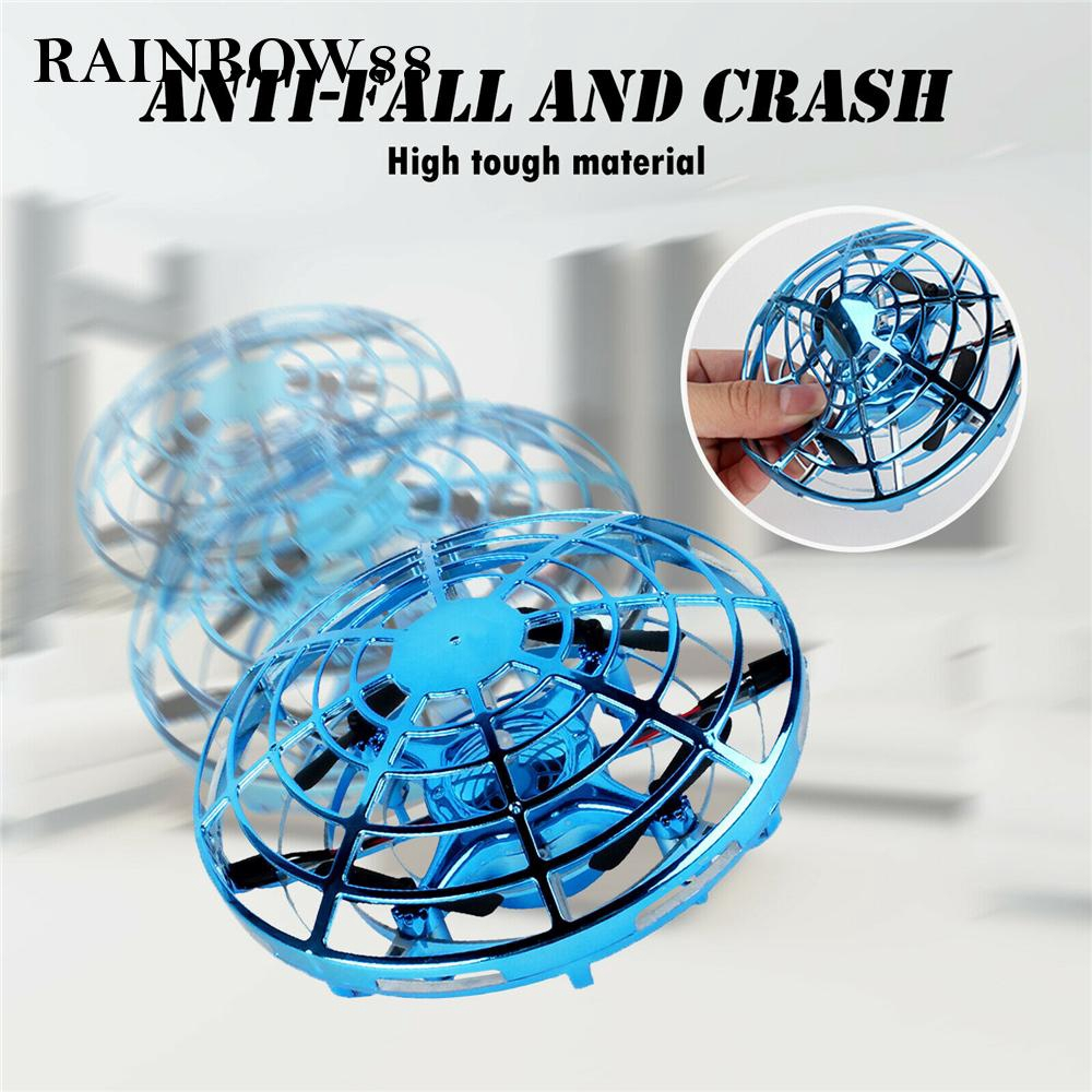 RC Aircraft UFO Ball LED Hand Flying For Children Anti-Collision Gorgeous