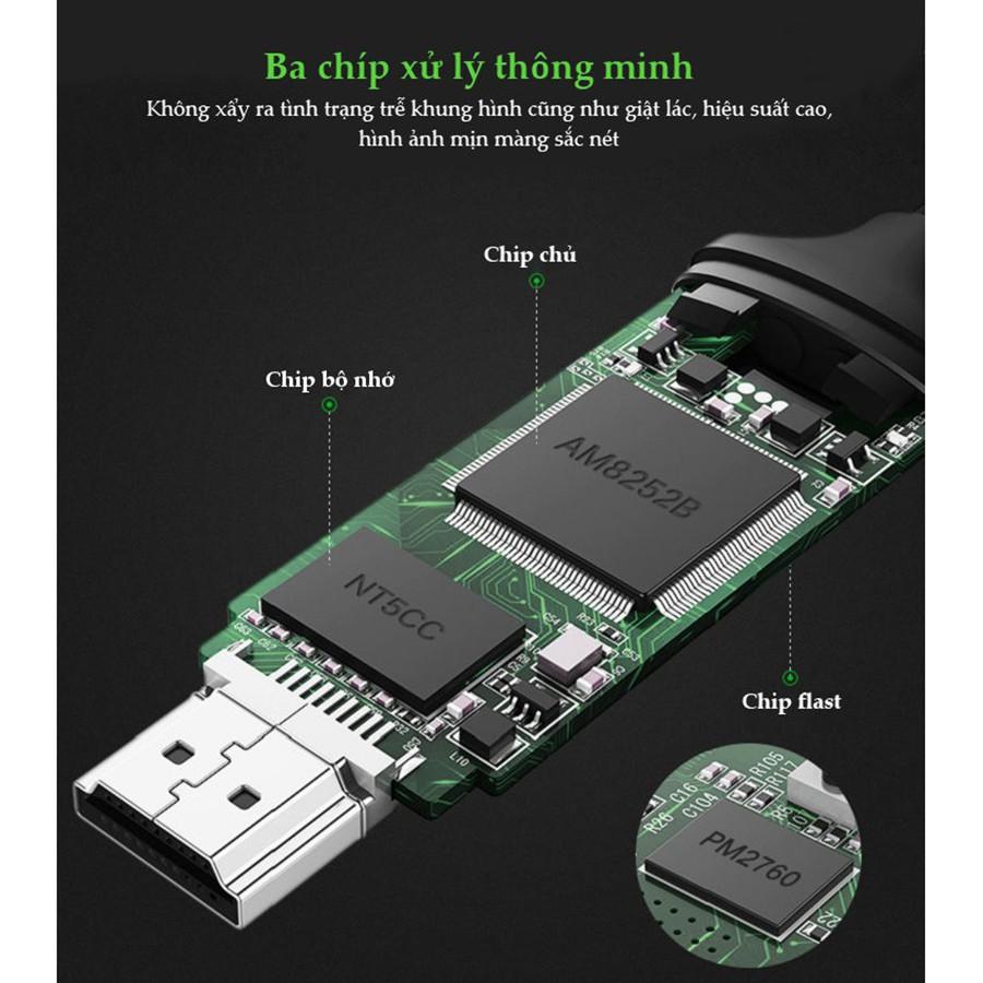 Ugreen 50291 - Kết nối điện thoại, máy tính bảng sang tivi, máy chiếu HDMI chính hãng - HapuStore