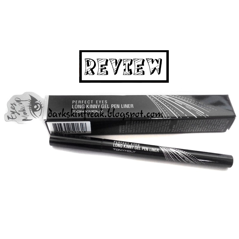 Kẻ mắt TonyMoly Perfect eyes Long Kinny gel pen liner