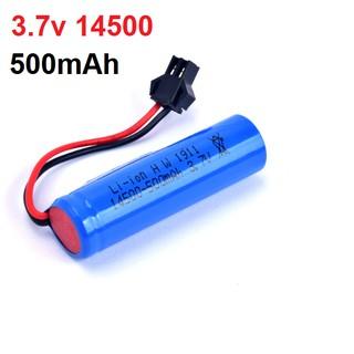 Pin 14500 3.7v 500mah cho xe mô hình điều khiển thumbnail