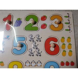 [FLASHSALE] Bảng 10 số tập đếm núm gỗ 020 – RẺ NHẤT VN