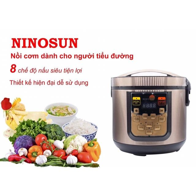 [ Trả Giá 2550K ] Nồi cơm tách đường NiNoSun...