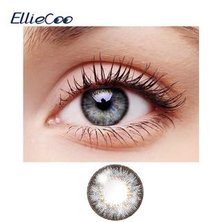 Cặp kính áp tròng màu EllieCoo tạo đôi mắt xám đậm dùng hóa trang tinh tế thumbnail
