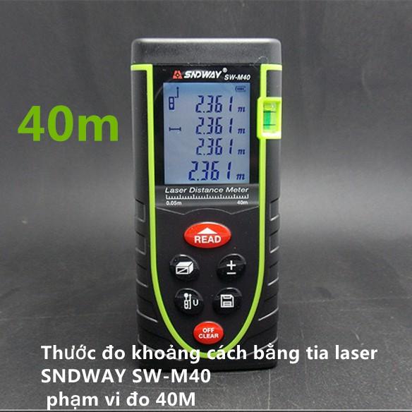 Máy đo khoảng cách bằng tia laser 40M