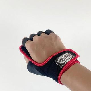 Găng tay tập gym ,găng tập gym có quấn cổ tay trợ lực phụ kiện gym giá rẻ găng tay nam nữ cao cấp GT-5555 thumbnail