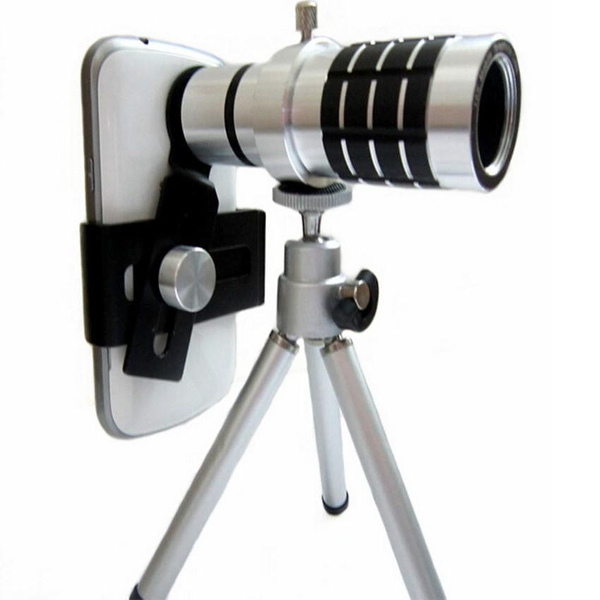 (Miễn phí vận chuyển) Ống kính zoom 12x cho điện thoại