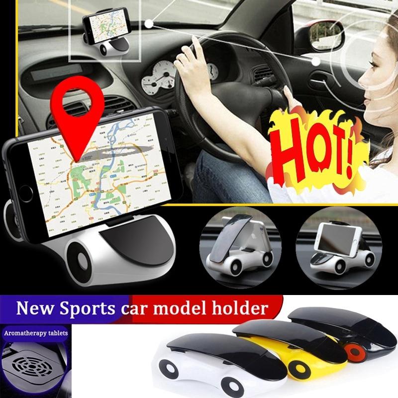 New Car Holder Cars Aromatherapy  Holder Dashboard Adjustable Car Decoration Phone Holder