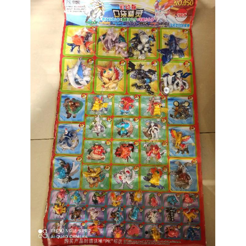 bảng bikachu bốc thăm trúng thưởng 50 con thú.150phiếu