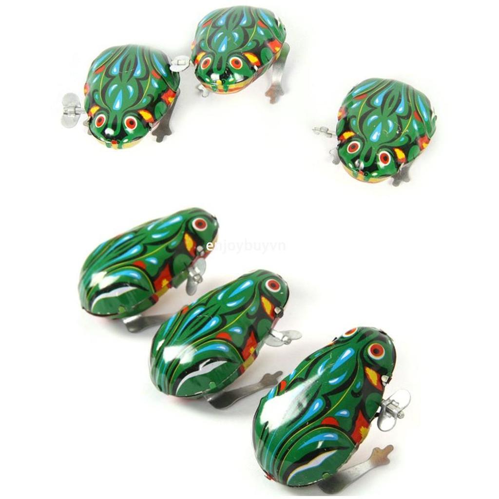 enjoybuy.vn Mini Portable Clockwork Iron Sheet Frog Nostalgic Toy